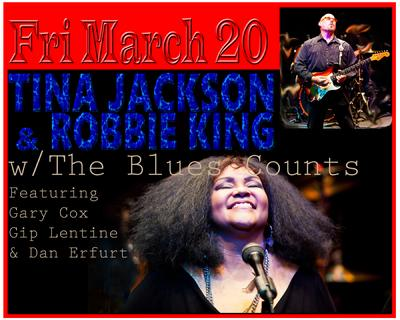 Tina Jackson & Robbie King play Harvelle's
