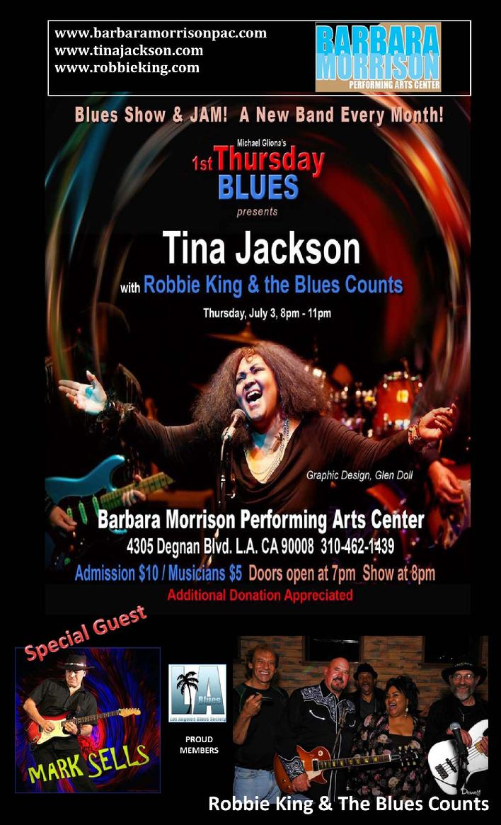 Tina Jackson, Vintage Authentic Electric Blues